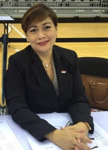 Best Tournament Supervisor in Asia for 2016 - Ms. Maria Karina Picson