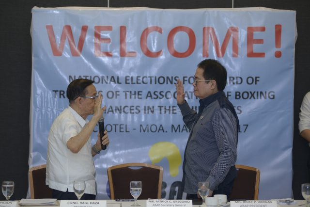 ABAP Elections Ricky Vargas