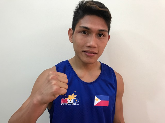 PHL-ABAP Association of Boxing Alliances in the Philippines Welterweight Joel Bacho