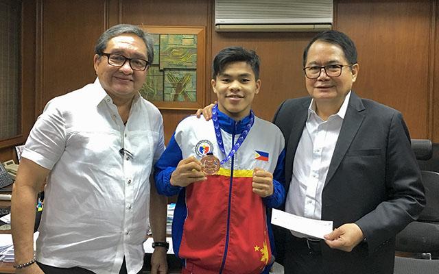 CDO Boxer Wins Bronze in World Tilt