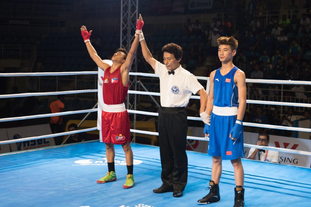 Asian Junior Boxing Championship 2017 Action 1