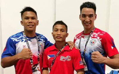Fernandez, Marcial, Marvin Gain SEAG Finals