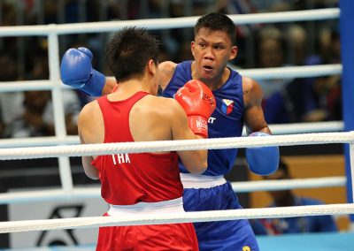 Marvin, Marcial Bag SEA Games Gold