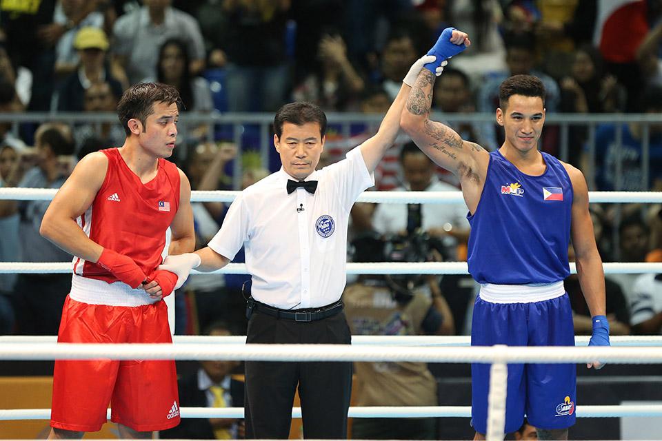 Marvin, Marcial Bag SEA Games Gold