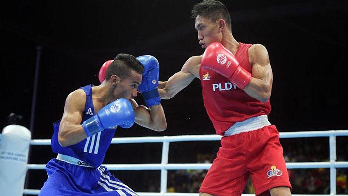 Ladon assured of boxing bronze medal
