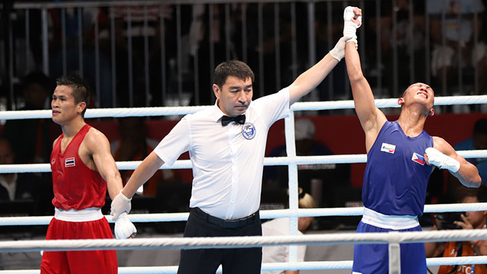 Ladon Moves to Snatch 5th Gold in Boxing
