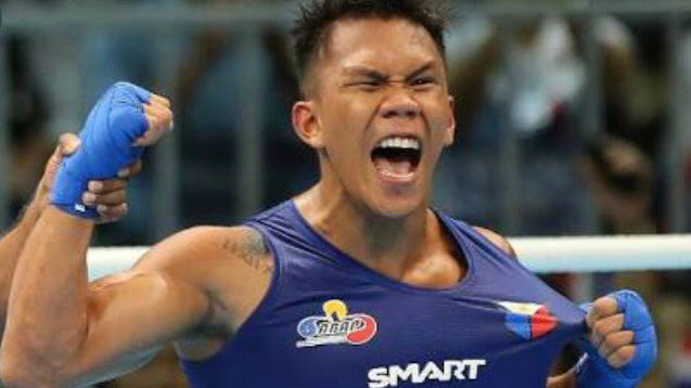 Marcial KOs rival in Asiad boxing competition